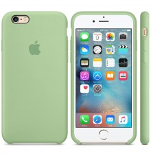 COQUE APPLE SILICONE IPHONE 6 S / 6 MENTHE