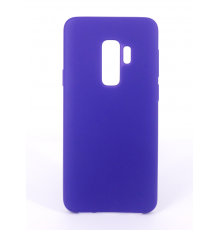 Coque Silicone Gomme Intérieur Façon Velours Samsung Galaxy S9 (G960F) - Violet Ultra