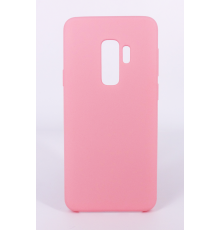 Coque Silicone Gomme Intérieur Façon Velours Samsung Galaxy S9 (G960F) - Rose Clair