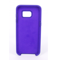 Coque Silicone Gomme Intérieur Façon Velours Samsung Galaxy S7 EDGE (G935F) - Violet Ultra