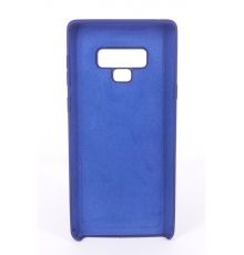 Coque Silicone Gomme intérieur façon velours Samsung  Galaxy Note 9 (N960F) - Violet Ultra