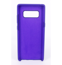 Coque Silicone Gomme Intérieur Façon Velours Samsung Galaxy Note 8 (N950F) - Violet Ultra