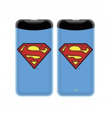 Power Bank/batterie externe DC Comics Superman  6000 mah - Bleu