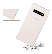 Coque Silicone Antichoc Samsung Galaxy S10 - Transparent